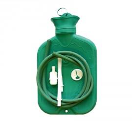 Wärmflasche mit Aufsätzen