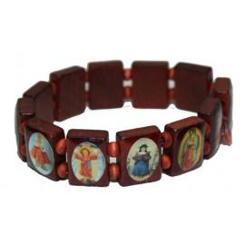 Armband mit Heiligenbildern